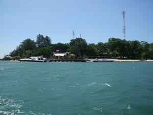 pulau bidadari - view jauh