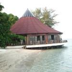pulau pantara - resto view luar