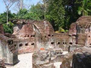 Pulau Bidadari - castle