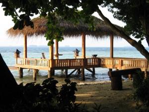 pulau alam kotok - Floating Hut