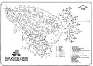 pulau ayer - Island Map