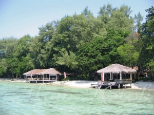 Pulau alam kotok - view1