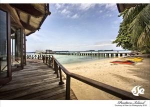 Pulau pantara - Restaurant Terrace