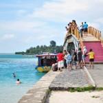 Pulau tidung - jembatan view