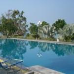 Pulau putri - kolam renang view