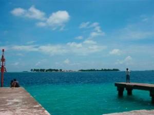 pulau pramuka - dermaga