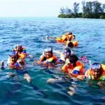 pulau tidung - snorkling