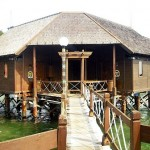 Pulau Ayer - floating cottage4