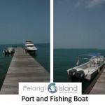 pulau pelangi - boat